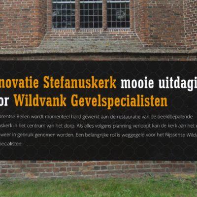 Stefanuskerk Beilen project Wildvank Gevelspecialisten